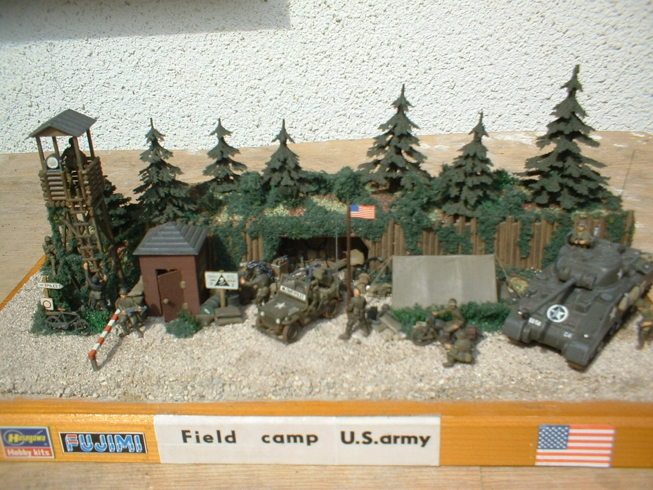 Field camp U.S.army